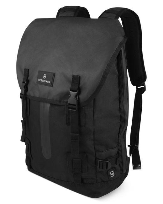 Victorinox | Black Flapover Laptop Backpack, Altmont 3.0 Drawstring for Men | Lyst