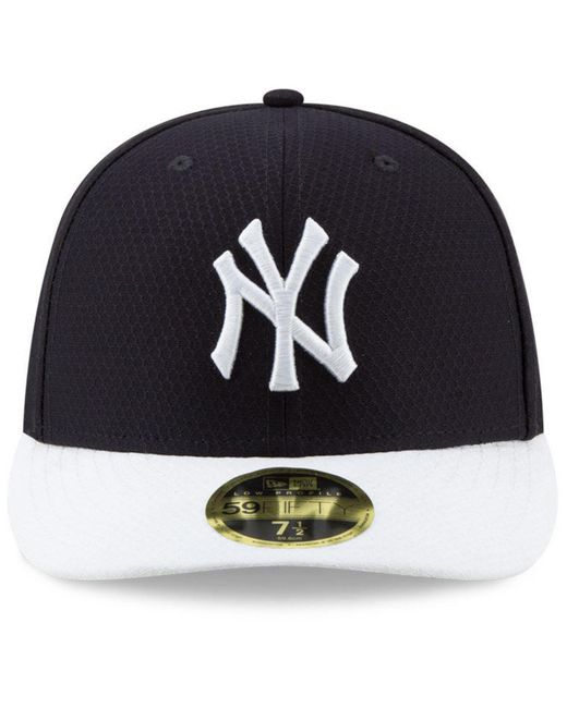 ... KTZ - Blue New York Yankees Spring Training 59fifty-fitted Low Profile  Cap for Men ... 33ebe270434e