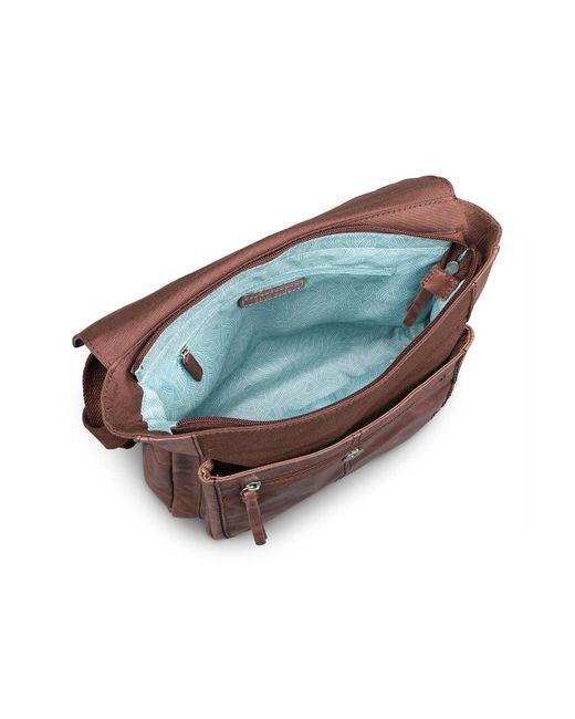 The Sak Brown Ventura Leather Backpack