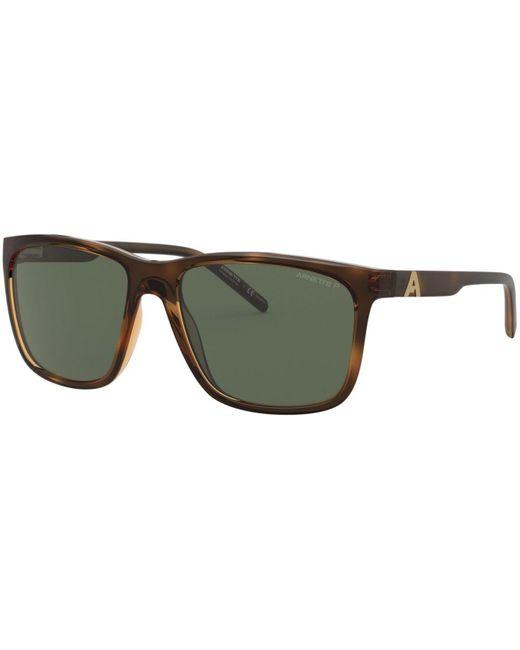 Arnette Green Polarized Sunglasses, An4272 for men