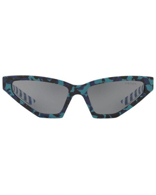 17a2dedeb53c ... Prada - Gray Sunglasses