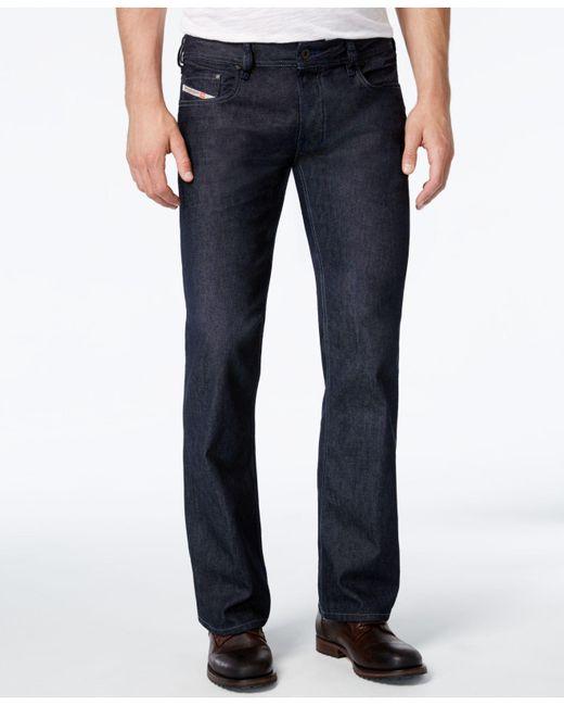 Diesel Men's Zatiny Bootcut Jeans for Men | Lyst Diesel Jeans Men Bootcut
