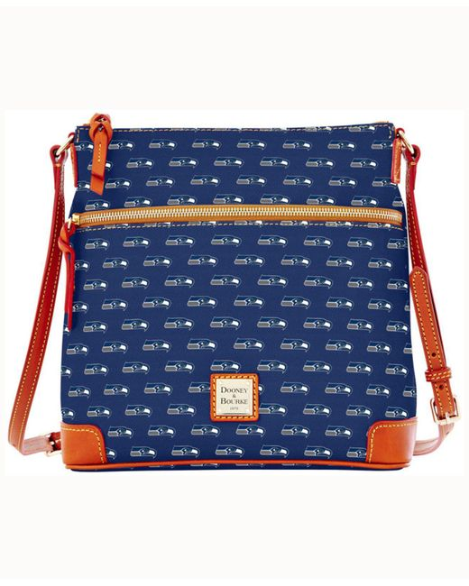 Dooney & Bourke - Blue Seattle Seahawks Crossbody Purse - Lyst