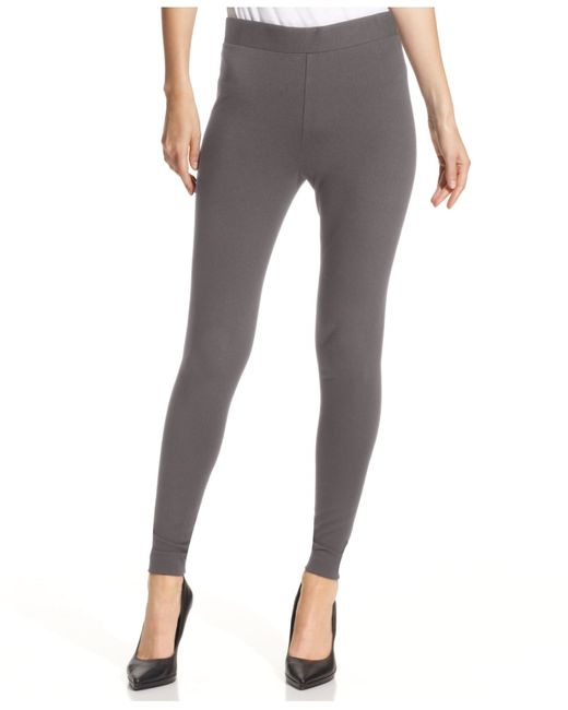 Vince Camuto | Gray Pants, Ponte-knit Leggings | Lyst