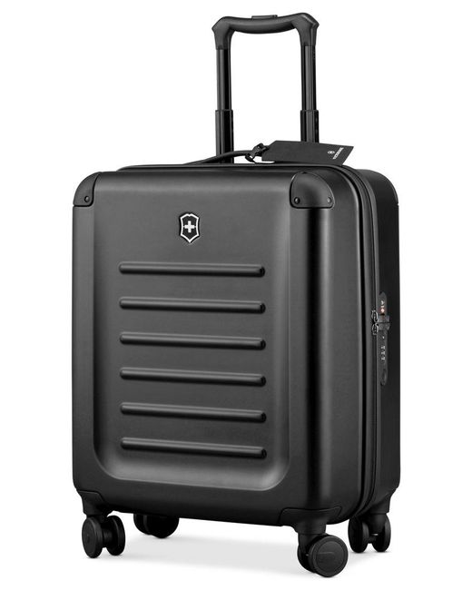 """Victorinox   Black Victorinox Spectra 2.0 21"""" Extra Capacity Carry On Hardside Spinner Suitcase for Men   Lyst"""