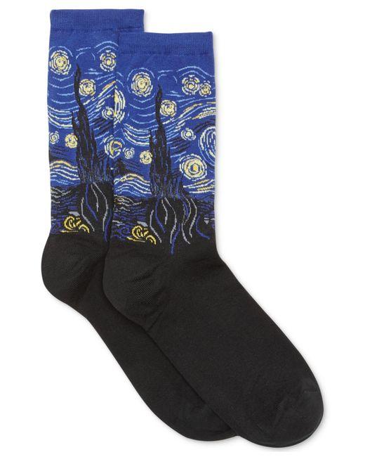 Hot Sox   Blue Women's Starry Night Trouser Socks   Lyst
