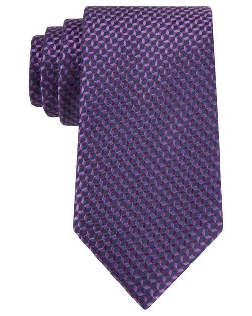 Michael Kors | Purple Aspen Neat Tie for Men | Lyst
