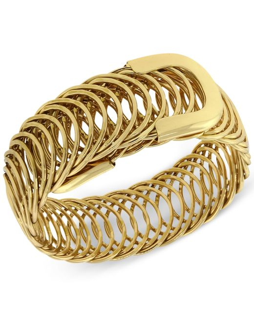 2028 | Metallic Gold-tone Belt Bracelet | Lyst