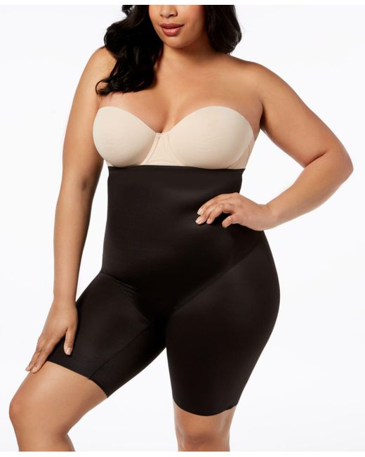 Miraclesuit - Black Extra Firm Control High Waist Thigh Slimmer 2759 - Lyst