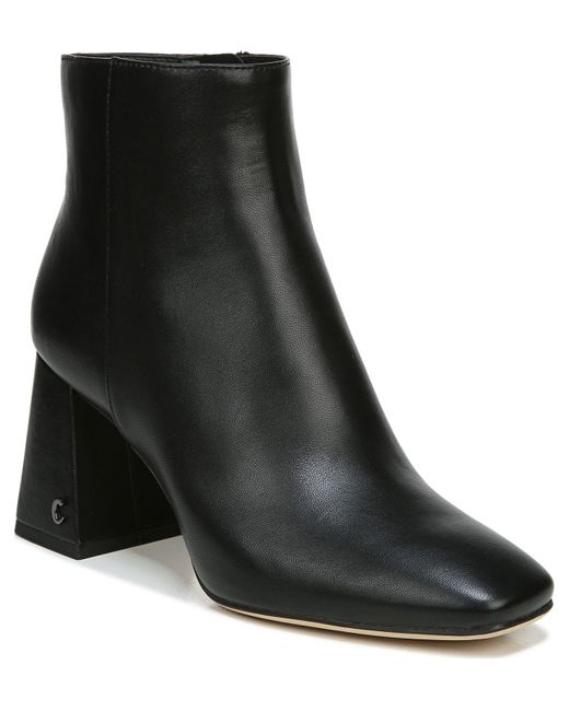 Circus by Sam Edelman Black Kate Square-toe Booties