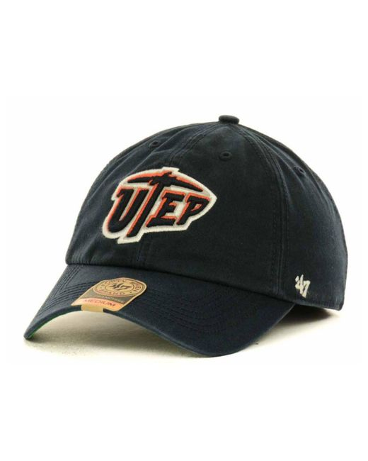 47 Brand | Blue Utep Miners Ncaa '47 Franchise Cap for Men | Lyst