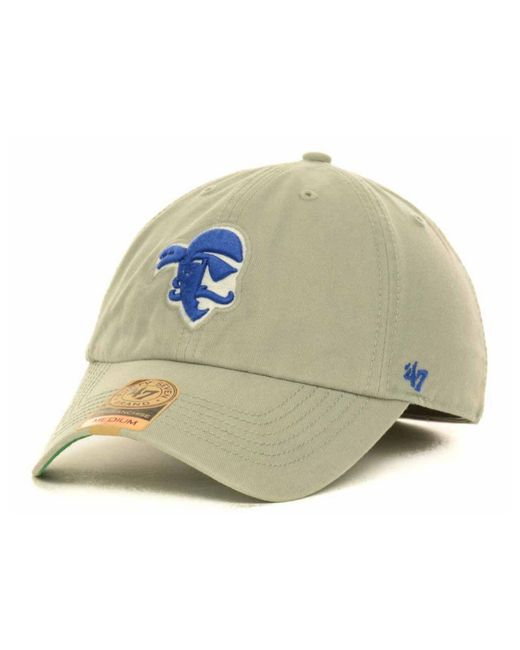 47 Brand | Gray Seton Hall Pirates Ncaa '47 Franchise Cap for Men | Lyst