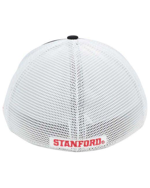 the best attitude d5878 fcf48 ... low cost nike black stanford cardinal aero bill mesh swooshflex cap for  men lyst b3607 8a416