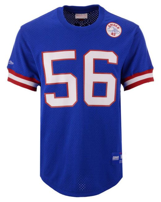 Lyst Mitchell Ness Lawrence Taylor New York Giants Mesh Name And