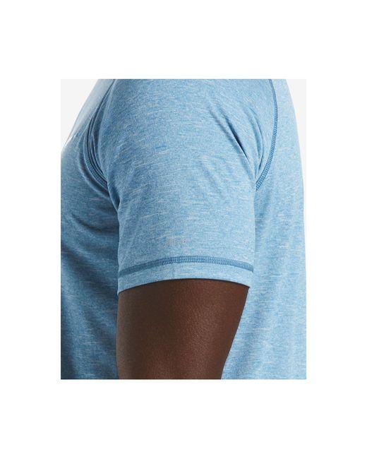 1bcce0d3 ... Nike - Blue Big & Tall Hydroguard Moisture-wicking Heather Rash Guard  for Men -