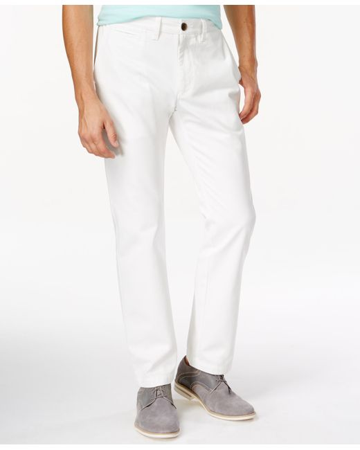 American Rag | White Men's Chino Pants for Men | Lyst
