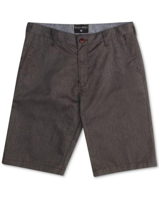Billabong | Gray Men's Carter Shorts for Men | Lyst