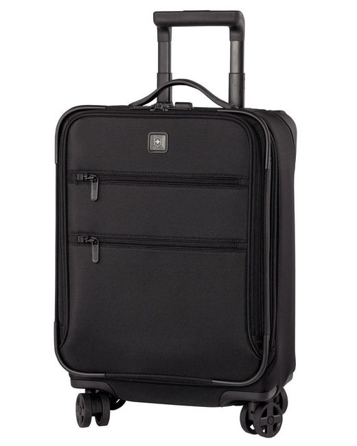 """Victorinox   Black Closeout! 50% Off Victorinox Lexicon 20"""" Global Carry On Expandable Spinner Suitcase for Men   Lyst"""