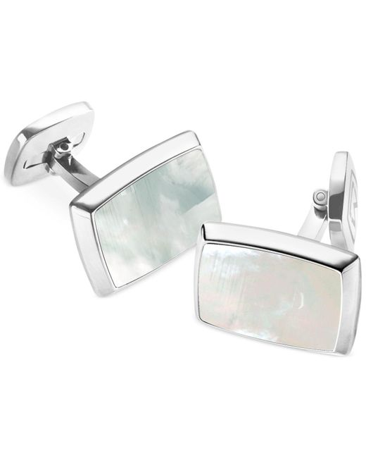 M-clip | Metallic Mother Of Pearl Rectangle Cufflinks for Men | Lyst