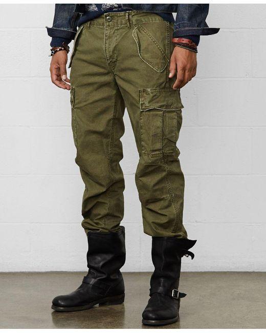 Denim & Supply Ralph Lauren | Green Men's Field Cargo Pants for Men | Lyst