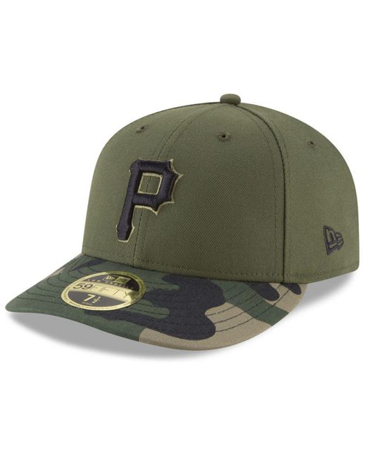 official photos 9863e e8b38 KTZ - Green Pittsburgh Pirates Low Profile Ac Performance 59fifty Fitted Cap  for Men - Lyst ...