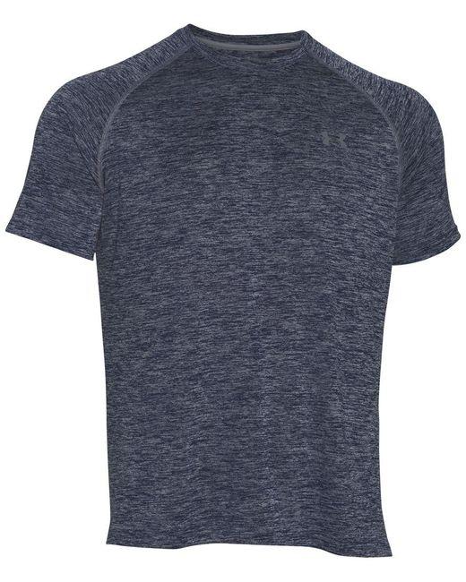 Under Armour | Red Tech Short Sleeve T-shirt for Men | Lyst