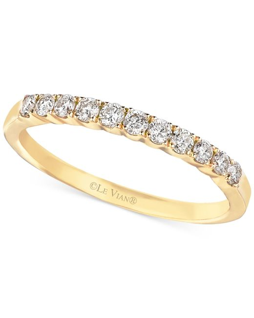Le Vian | Metallic Diamond Wedding Band In 14k Gold (1/3 Ct. T.w.) | Lyst