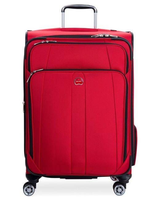 "Delsey | Red Helium Breeze 5.0 25"" Spinner Suitcase, Only At Macy's for Men 