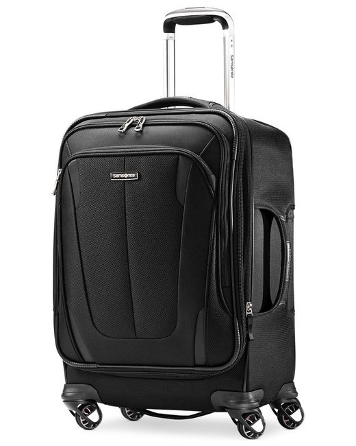 "Samsonite | Black Silhouette Sphere 2 21"" Carry On Spinner Suitcase, Available In Ruby Red, A Macy's Exclusive Color for Men 