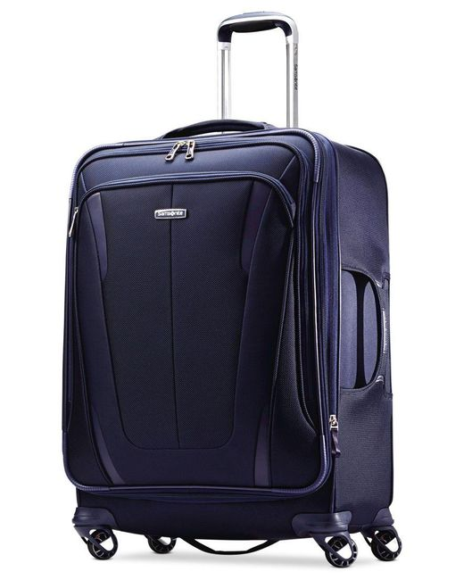 "Samsonite | Blue Closeout! 60% Off Silhouette Sphere 2 25"" Spinner Suitcase, Available In Ruby Red, A Macy's Exclusive Color for Men 