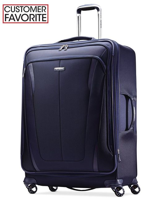 "Samsonite | Blue Silhouette Sphere 2 29"" Spinner Suitcase, Available In Ruby Red, A Macy's Exclusive Color for Men 