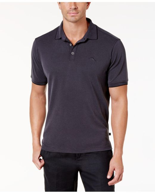 Tommy Bahama - Black All Square Polo for Men - Lyst