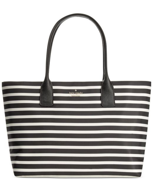 Kate Spade | Black Classic Nylon Catie Tote | Lyst
