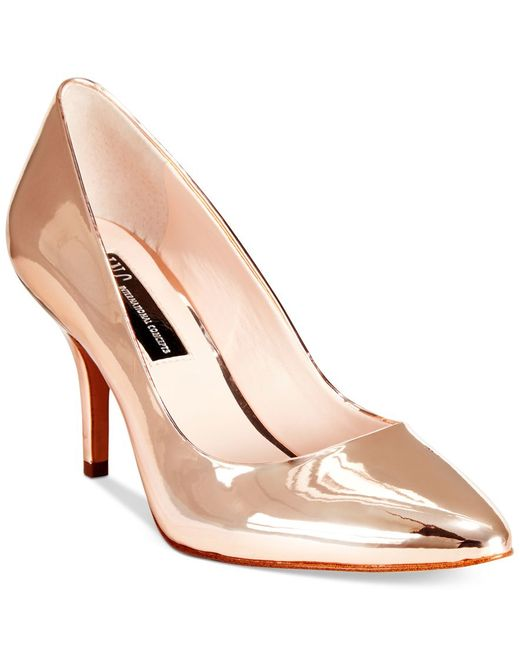 INC International Concepts   Pink Womens Zitah Pointed Toe Pumps   Lyst