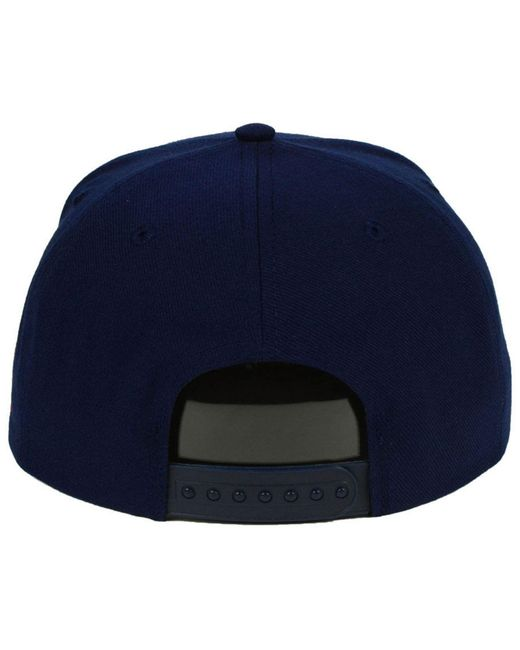 huge selection of f6c67 83de0 ... top quality adidas blue new england revolution poly snapback cap for men  lyst 08229 c6eda