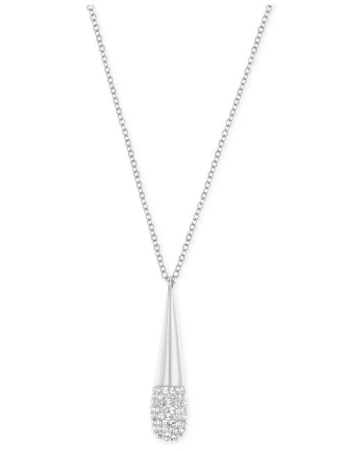Swarovski | Metallic Cypress Small Crystal Pendant Necklace | Lyst