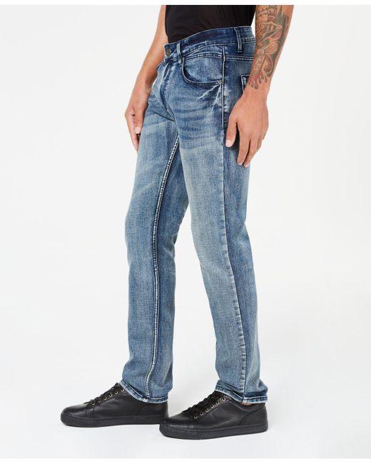 2ab673cb666d Lyst - INC International Concepts I.n.c. Stretch Slim Straight Jeans ...
