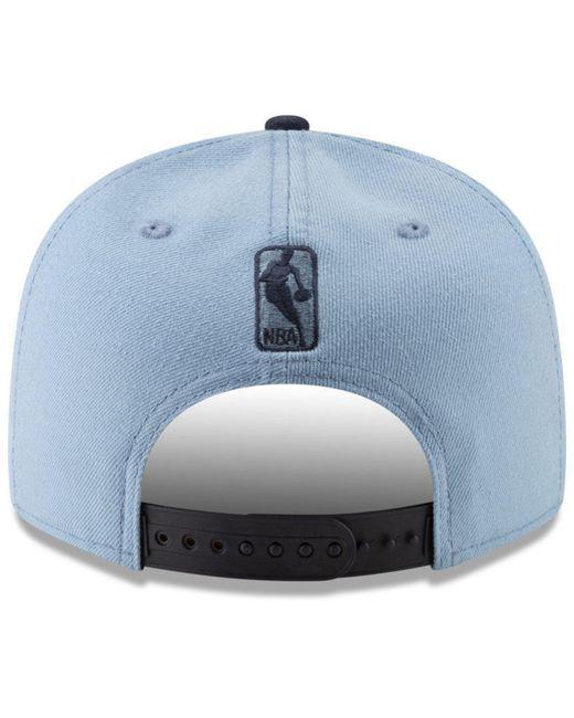 reputable site 0399d a8514 ... KTZ - Blue Memphis Grizzlies Light City Combo 9fifty Snapback Cap for  Men - Lyst