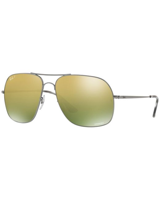 83c2d4716a Ray-Ban - Green Polarized Sunglasses