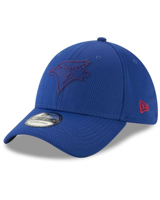 c9bedaccac9 Lyst - KTZ Toronto Blue Jays Clubhouse 39thirty Cap in Blue for Men