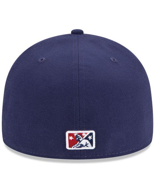 KTZ Blue Reading Phillies Ac 59fifty Cap for men