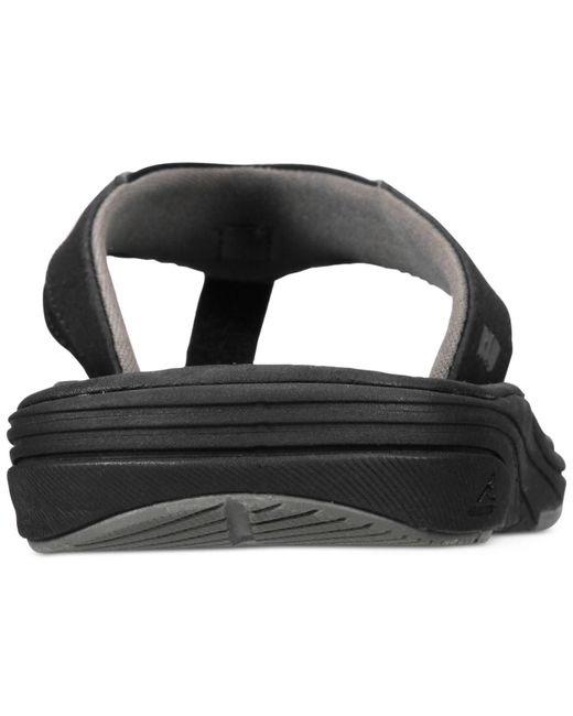 3df54c5243d8 ... Lyst Reef - Black Men s Modern Sandals for Men ...
