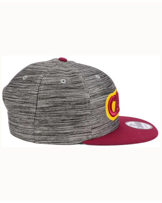 hot sales 7e0aa c6221 ... KTZ - Multicolor Cleveland Cavaliers Blurred Trick 9fifty Snapback Cap  for Men - Lyst