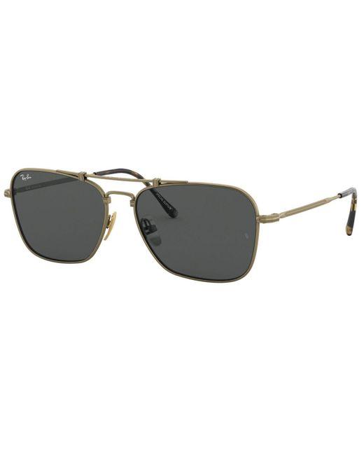 Ray-Ban Multicolor Unisex Titanium Sunglasses, Rb8136