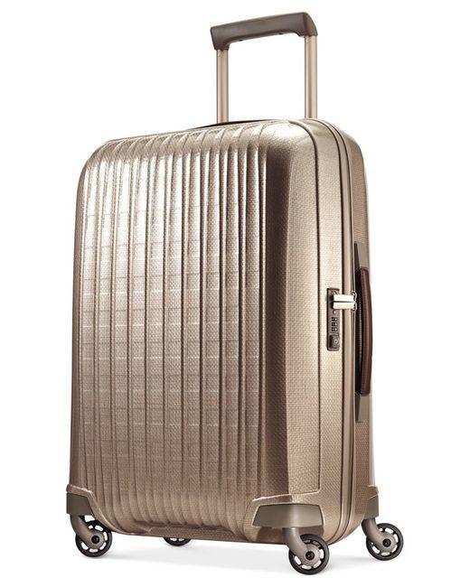"Hartmann | Brown Innovaire 29"" Long Journey Hardside Spinner Suitcase | Lyst"