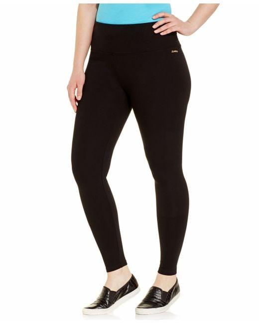 Calvin Klein | Black Performance Plus Size Leggings | Lyst