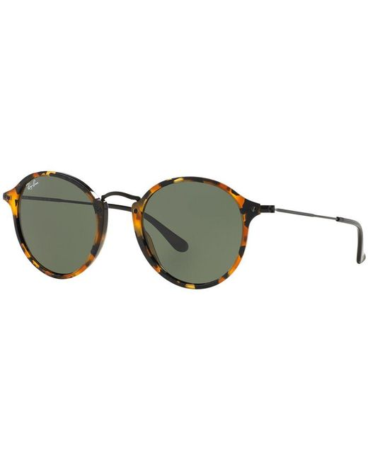 Ray-Ban | Brown Sunglasses, Rb2447 Round | Lyst