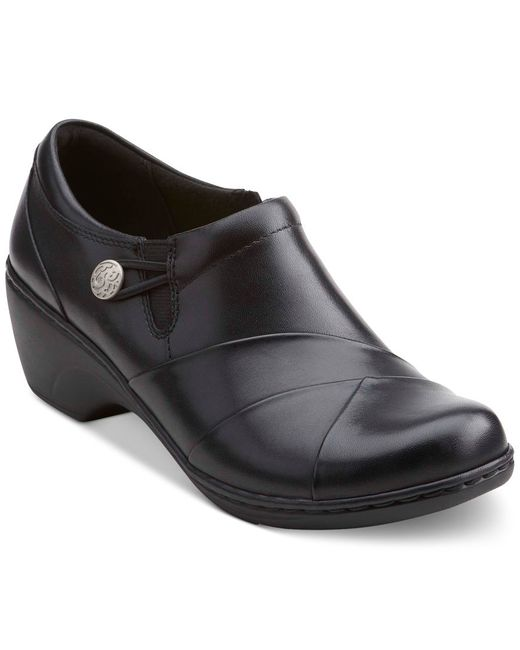 Clarks Collection Women S Channing Ann Flats In Black Lyst