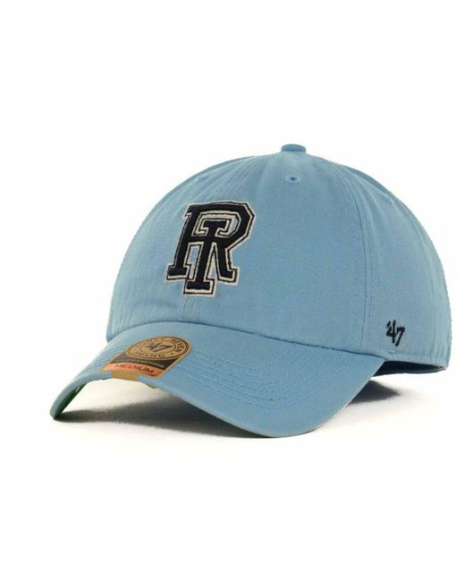 47 Brand - Blue Rhode Island Rams Ncaa '47 Franchise Cap for Men - Lyst