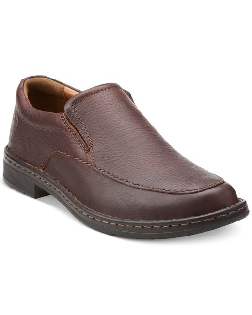 Clarks | Brown Kyros Free Loafers for Men | Lyst